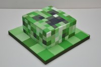 Minecraft Creeper Cake For An 11 Year Old By Finesse Cakes ...