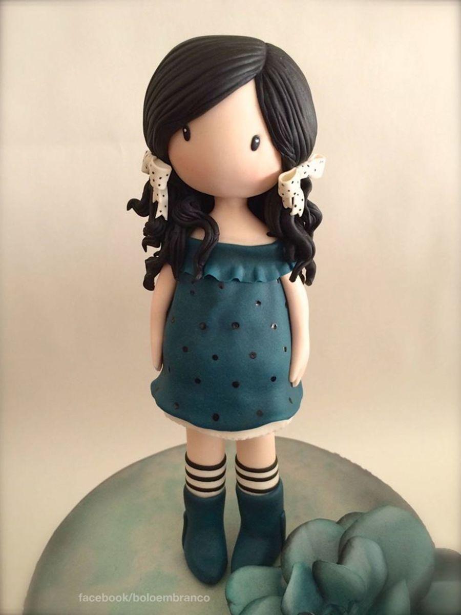 A Cute Doll Wallpaper Gorjuss Doll Cake Cakecentral Com