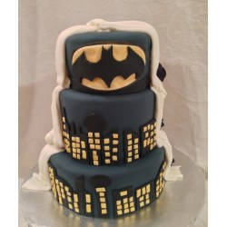 Small Crop Of Batman Wedding Cake