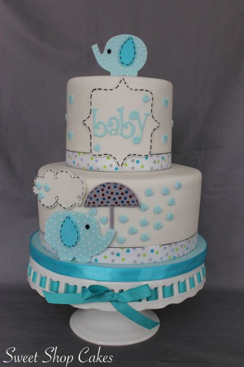 Medium Of Baby Shower Cake Ideas