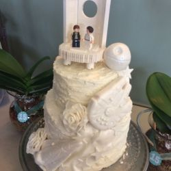 Small Of Star Wars Wedding Cake