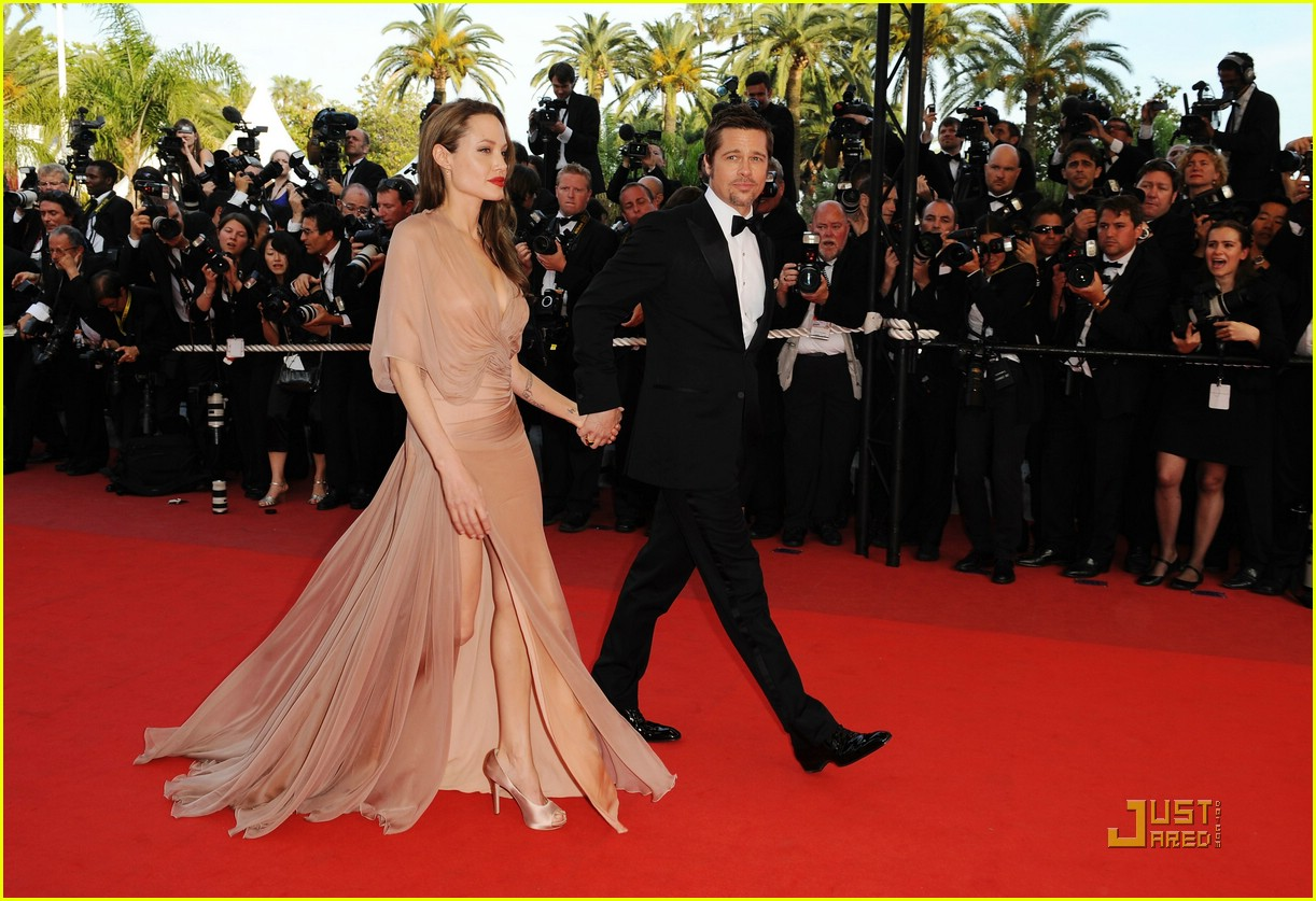 Angelina Jolie Roter Teppich Brad Pitt And Angelina Jolie 39inglourious Basterds 39 Cannes