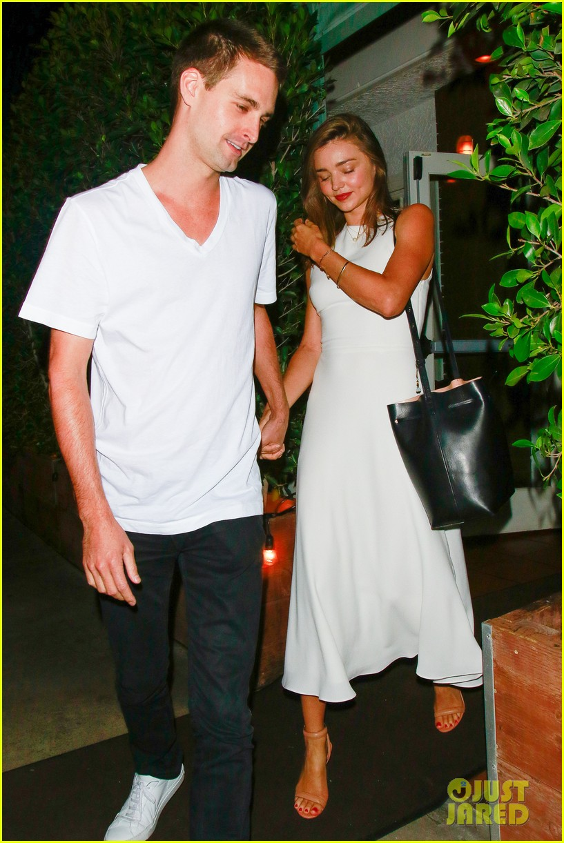 Spiegel 24 Miranda Kerr Snapchat S Evan Spiegel Look So Happy Together On