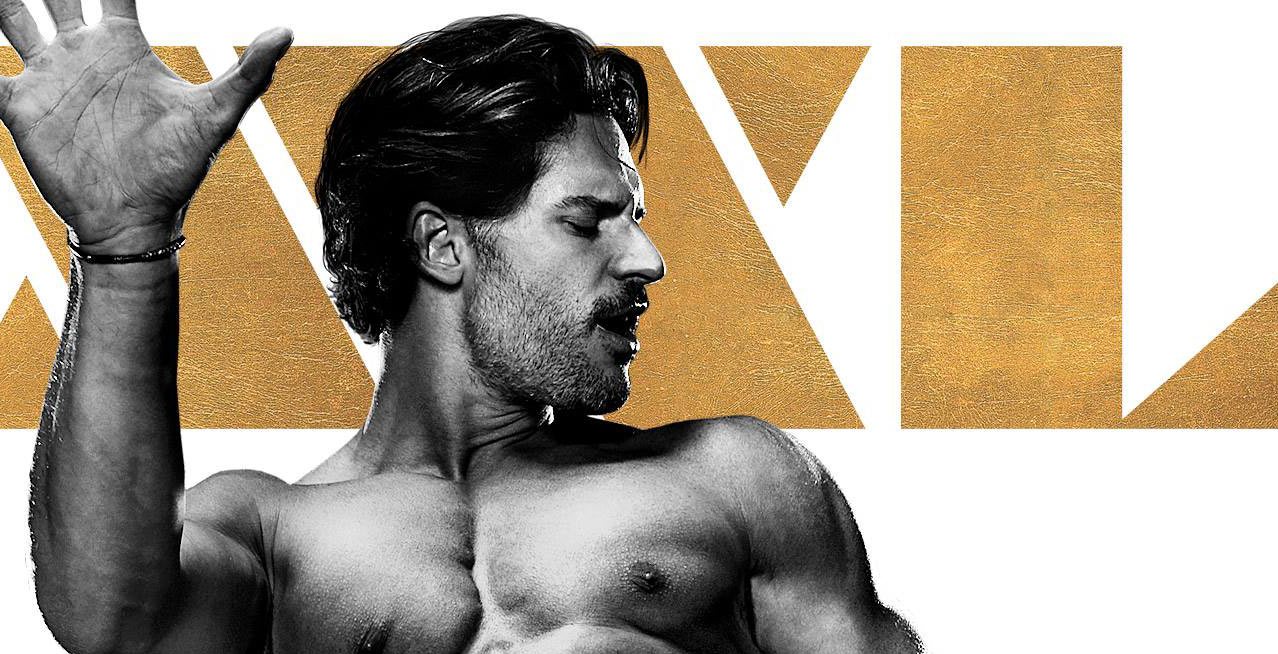 Xxxl Poster Joe Manganiello S Shirtless Magic Mike Xxl Poster Is Here Joe