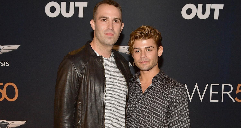 Garrett Clayton Makes Red Carpet Debut With Partner Blake