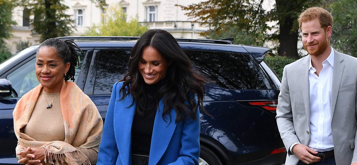 Duchess Meghan Markle Brings Her Mom Doria Ragland To