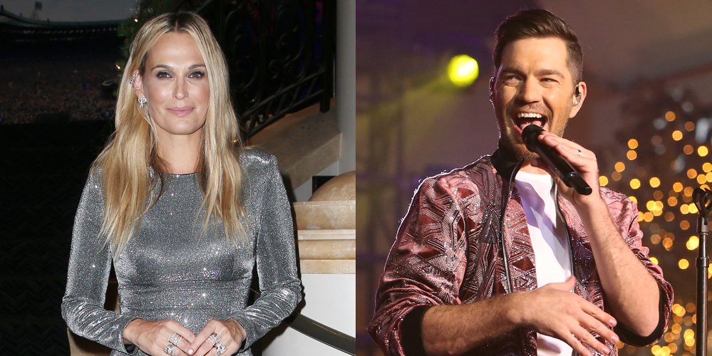 Molly Sims Andy Grammer Entertain The Crowd At Christmas