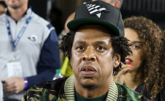 Jay Z Checks Out Rams Vs Chiefs Football Game In L A