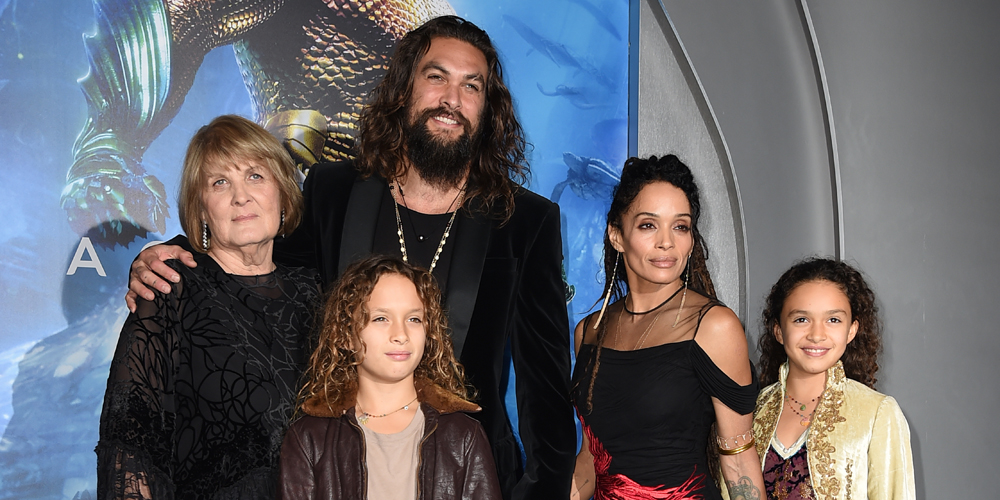 Tcl 49 Jason Momoa Gets Support From Wife Lisa Bonet, Mom & Kids