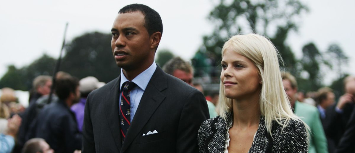 tiger woods ex wife nfl player