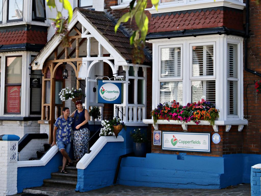 Bed And Breakfast Broadstairs Copperfields Vegetarian Guest House Broadstairs Home