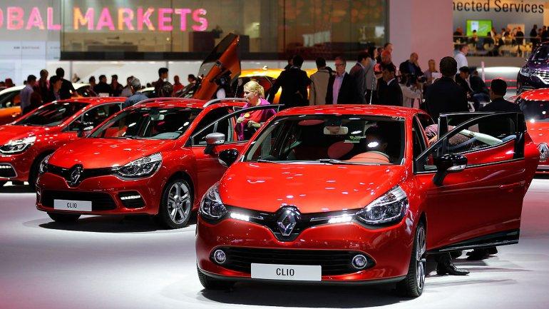 Uno de los modelos de Renault, el Clio Zoe, fue galardonado por su diseño exterior.