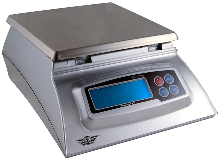 Digitalwaage Küchenwaage Digitale Küchenwaage Myweigh Kd7000 Silber 7kg / 1g