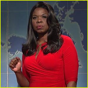 Leslie Jones Takes on Omarosa's White House Firing on 'SNL' – Watch! | Leslie Jones, Michael Che ...