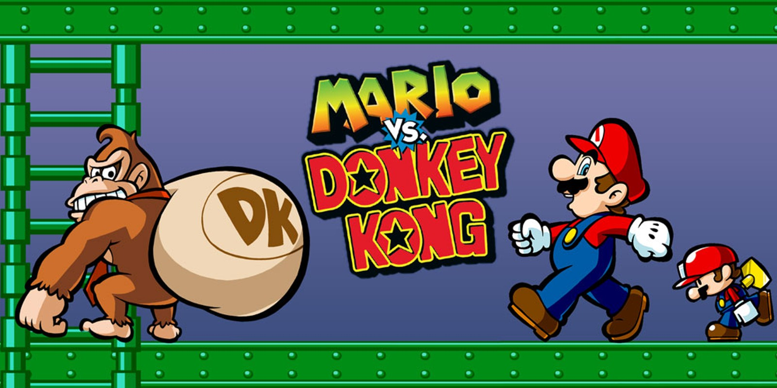 Mario Vs Donkey Kong For Gba Mario Vs Donkey Kong Game Boy Advance Jogos Nintendo