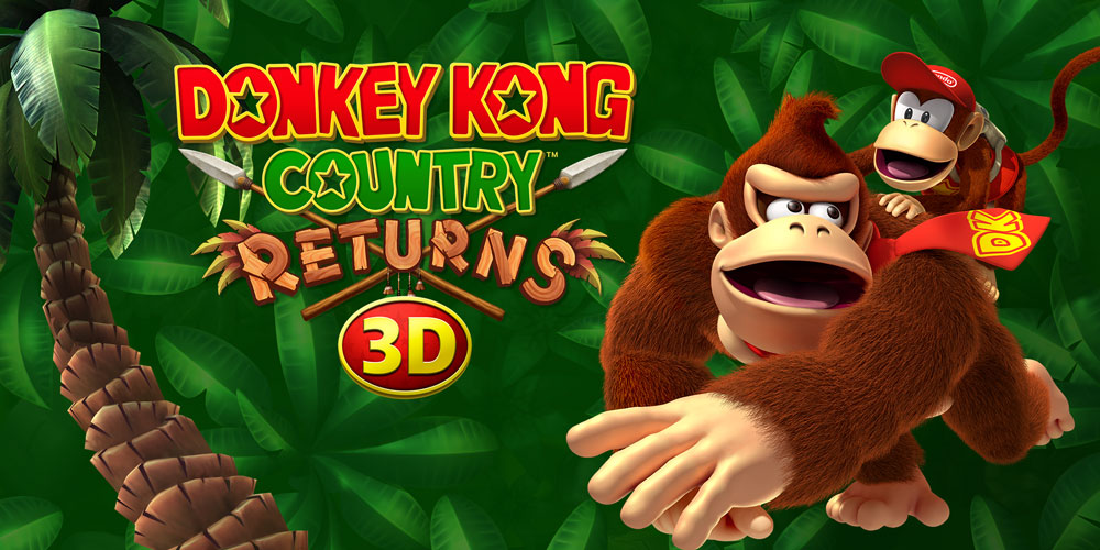3d Wallpaper Mario Donkey Kong Country Returns 3d Nintendo 3ds Games