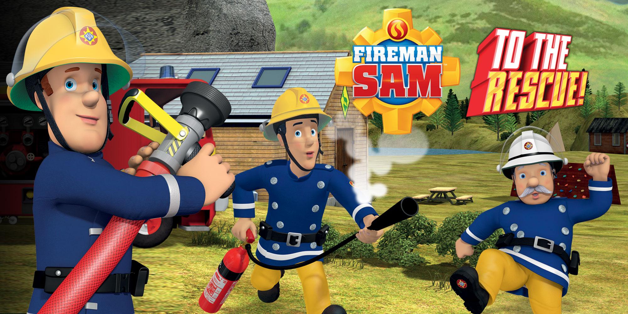Fireman Sam 3d Wallpaper Fireman Sam To The Rescue Nintendo 3ds Games Nintendo