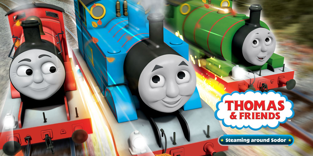 Ninja 3d Wallpaper Thomas And Friends Steaming Around Sodor Nintendo 3ds