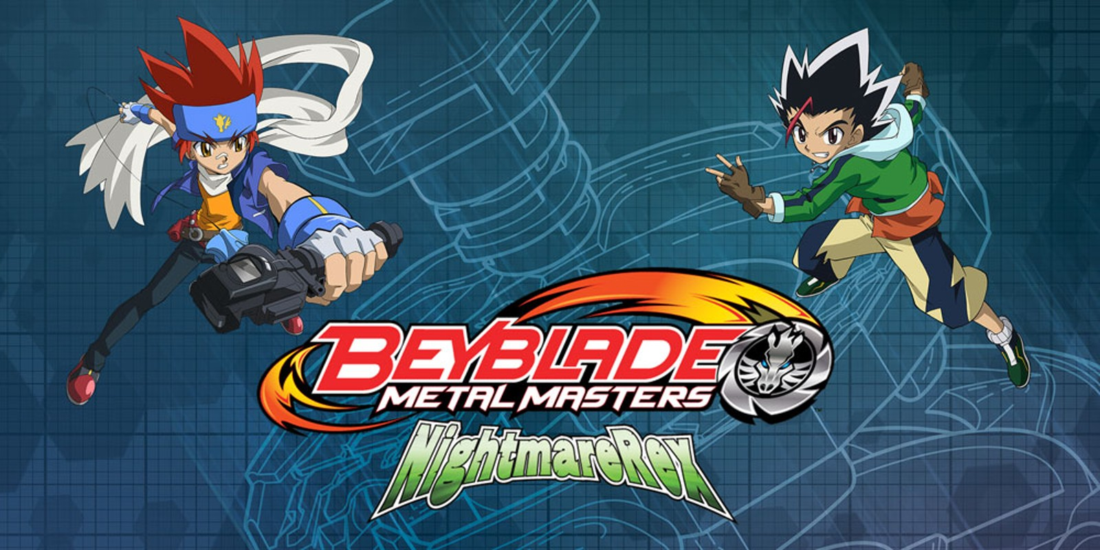 Mario 3d Wallpaper Beyblade Metal Masters Nightmare Rex Nintendo Ds