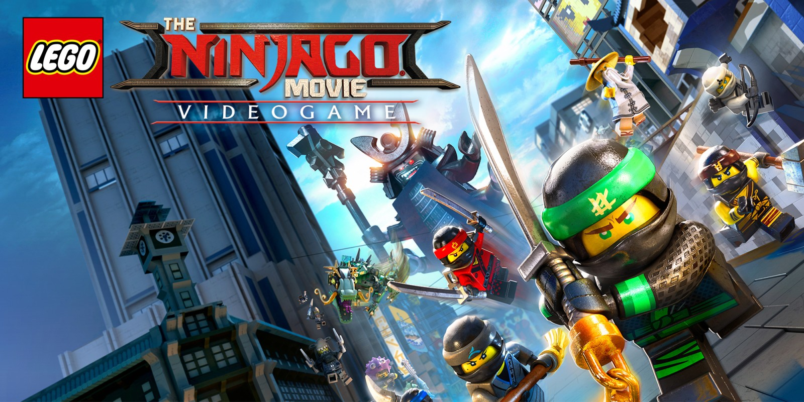The Lego Ninjago Movie The Lego Ninjago Movie Videogame Nintendo Switch Games