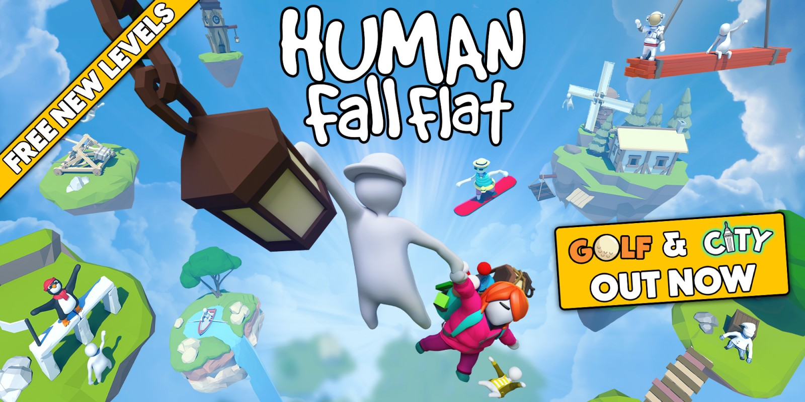 Fall Animal Crossing Wallpaper Human Fall Flat Nintendo Switch Download Software