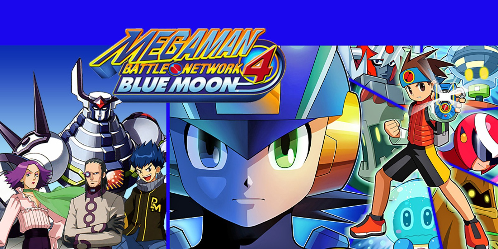 Kids Animal Wallpaper Mega Man Battle Network 4 Blue Moon Game Boy Advance