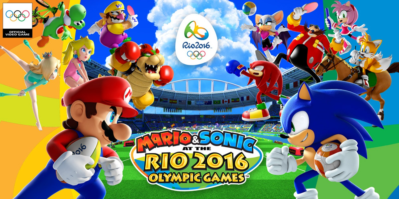 Rio Olympic Mario Sonic At The Rio 2016 Olympic Games Wii U Games