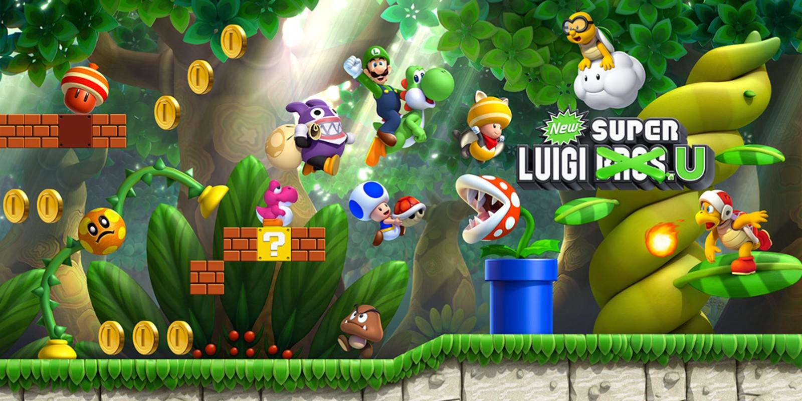 Super Metroid Hd Wallpaper New Super Luigi U Wii U Games Nintendo