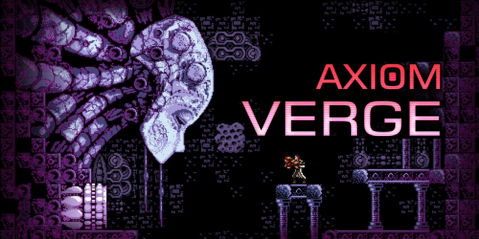 D Wallpaper Axiom Verge Nintendo Switch Download Software Games