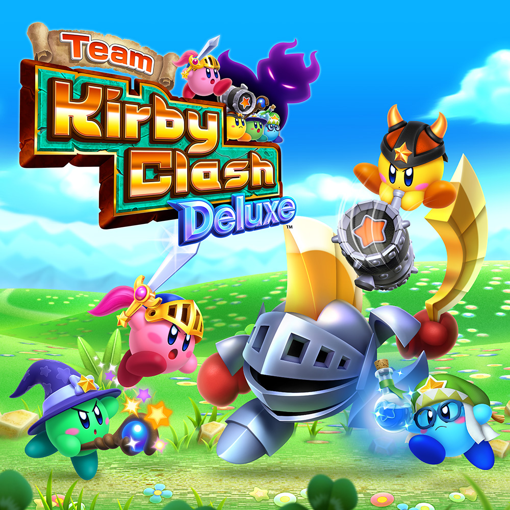 Zelda Hd Wallpaper Team Kirby Clash Deluxe Nintendo 3ds Download Software