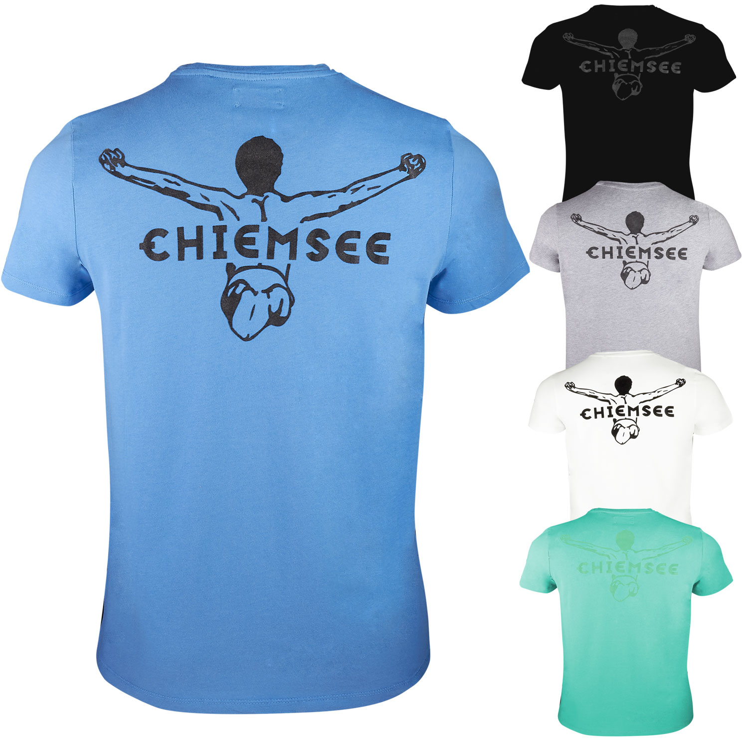 Chiemsee Bettwäsche Chiemsee Herren Shirt Manhatten T Shirt Herren T Shirts