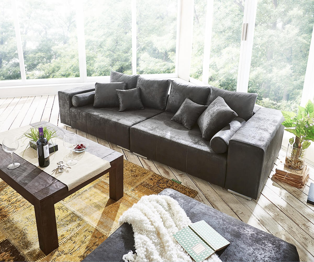 Big Sofa 290 Cm Big Hocker Elegant Erstaunlich Big Sofas Xxl Big Sofa Marbeya X