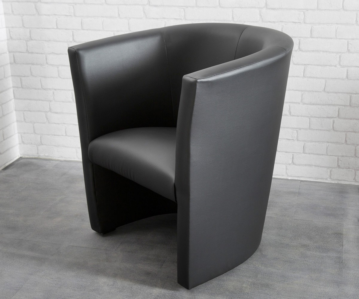 Möbel Sessel Cocktailsessel Goya Schwarz Design Sessel Lounge Sessel