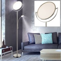 LED floor lamps Touch dimmer ceiling floodlights living ...