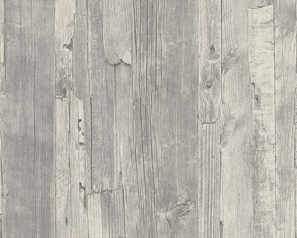 Grau Holz Vliestapete Holz Optik Holzwand As Creation 95405 4 Grau