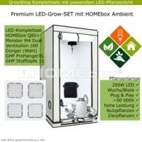 Premium Grow - LED Komplettsets mit Hombox Ambient