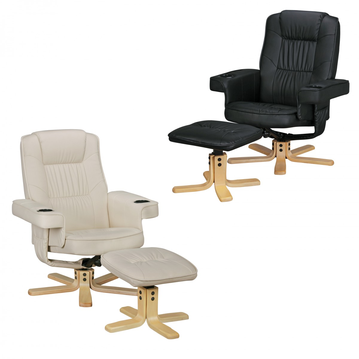 Relaxsessel Mit Hocker Relaxstuhl Mit Hocker Relax Duo Tv Sessel Fußablage Fernsehsessel Relaxsessel