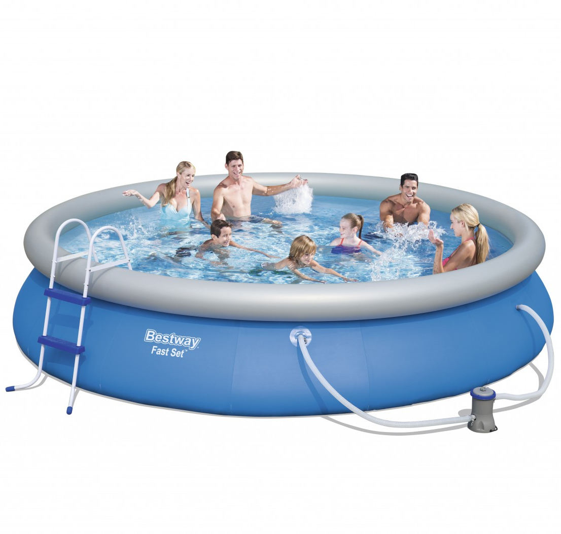 Pool Garten Aufstellbar Bestway Swimming Pool Set 457 X 84 Cm Online Shop Gonser