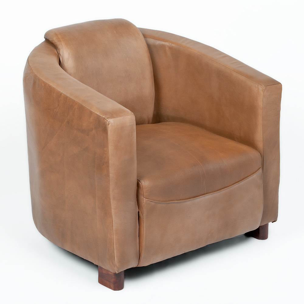 Sessel Design Leder Lounge Leder-sessel Hello Cognac-r (leather-e) Design