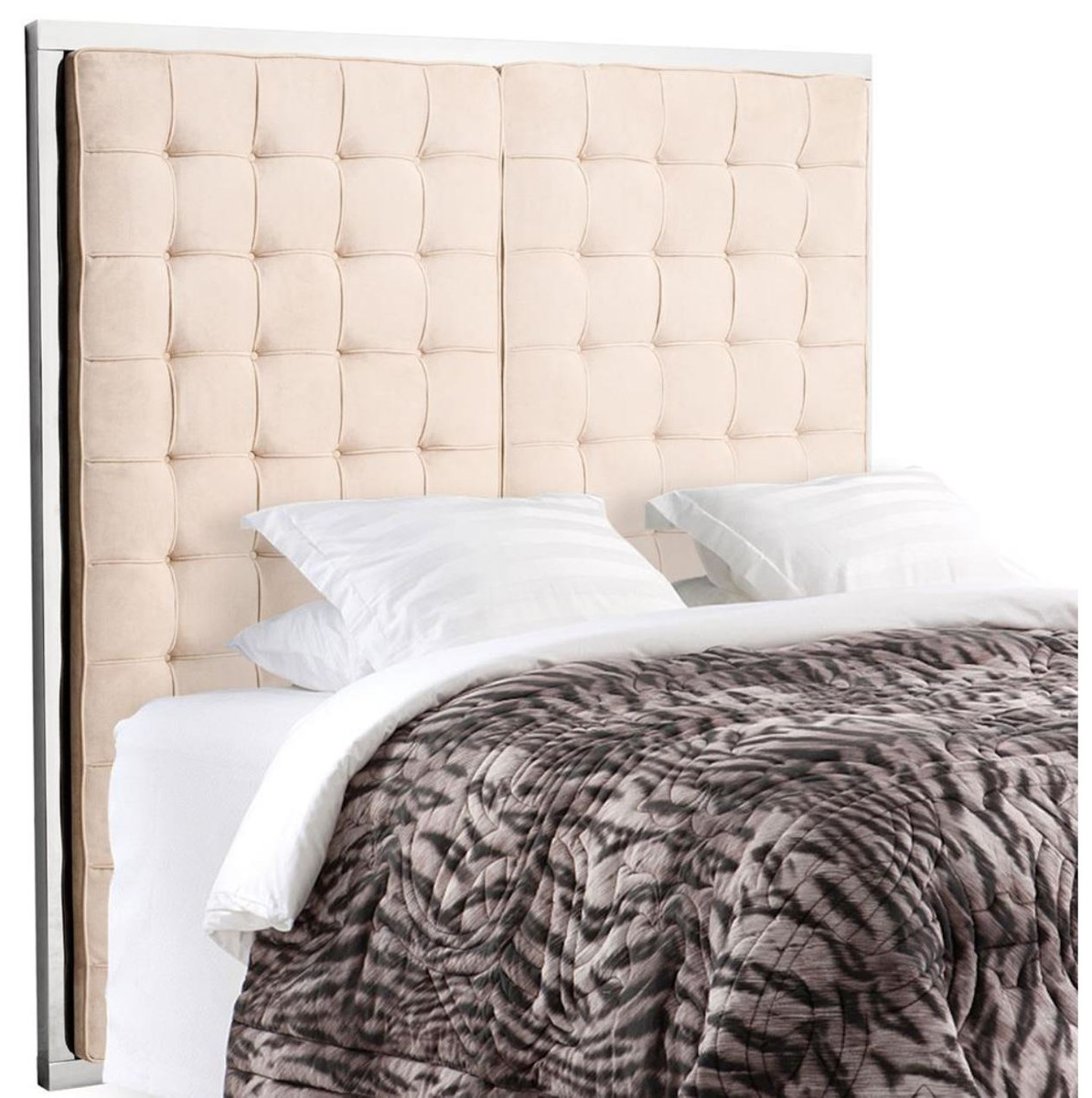 Kopfteil 180 Casa Padrino Luxury Hotel Bed Headboard Natural Color 180 X H 180 Cm Limited Edition