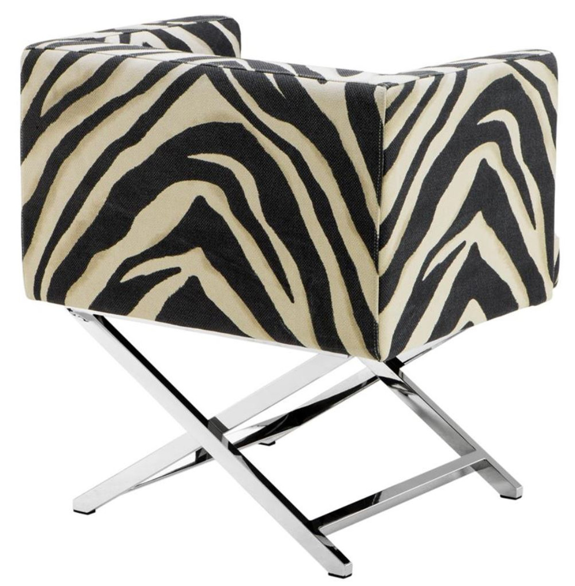 Zebra Sessel Casa Padrino Luxus Club Sessel Im Zebra Design 68 X 57 X H 74 Cm Art Deco Möbel