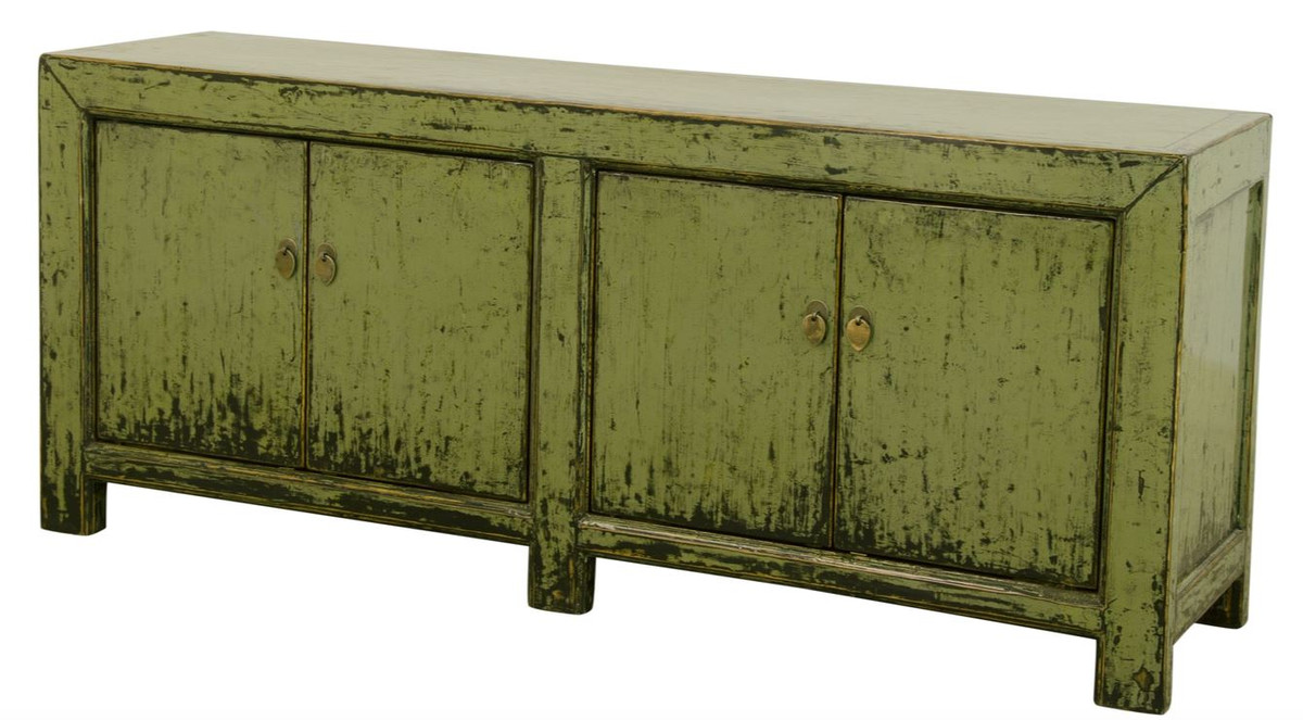 Sideboard 160 Casa Padrino Country Style Sideboard Cabinet Antique Style Green