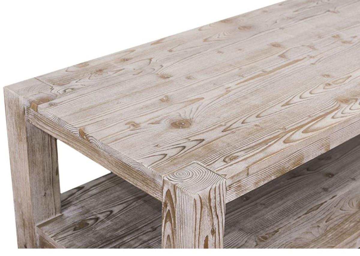 Couchtisch Country Casa Padrino Country Style Coffee Table Natural Colors 120 X 60 X H 45 Cm Living Room Table In Country Style