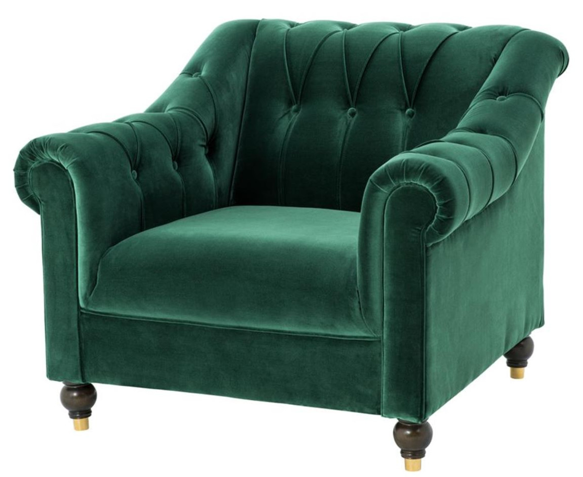Chesterfield Ohrensessel Leder Chesterfield Sessel
