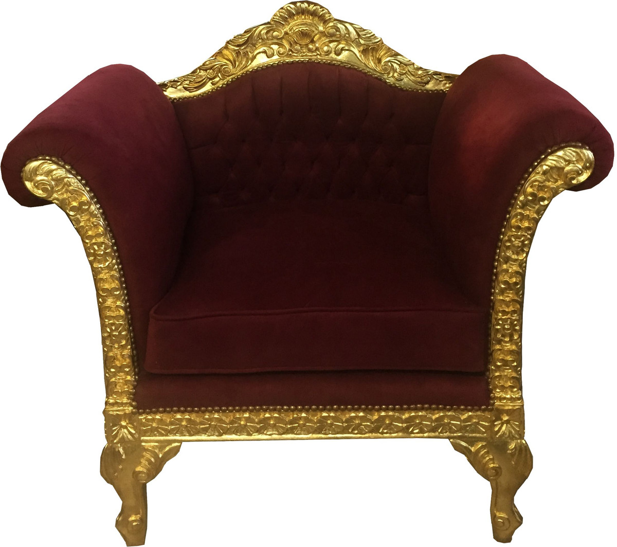 Badezimmer Garnitur Gold Luxus Barock Möbel Kollektion Bordeaux Gold Imperialistisches