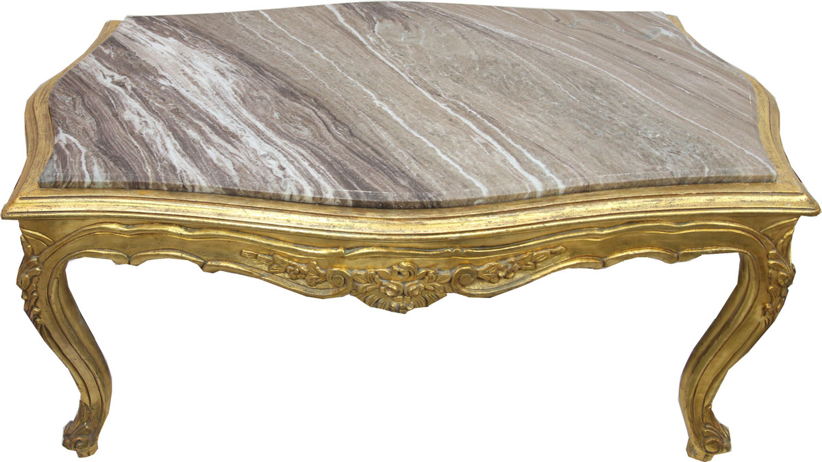 Living Style Couchtisch Baroque Couches And Sumptuous Salon Living Room Tables In Gold