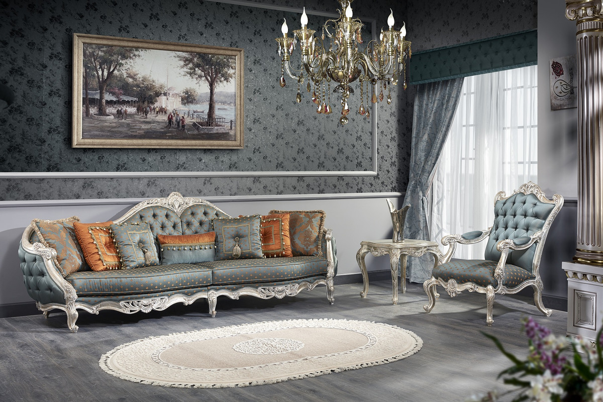 Couchtisch Bird Taupe Baroque Living Room Sets From Casa Padrino Baroque Furniture