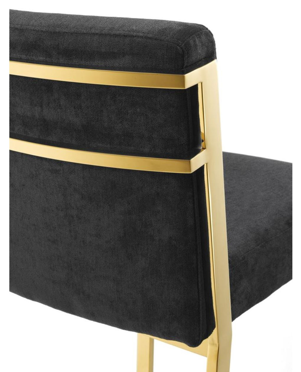 Designer High Chair Casa Padrino Designer High Chair Bar Chair Bar Stool Gold 43 X