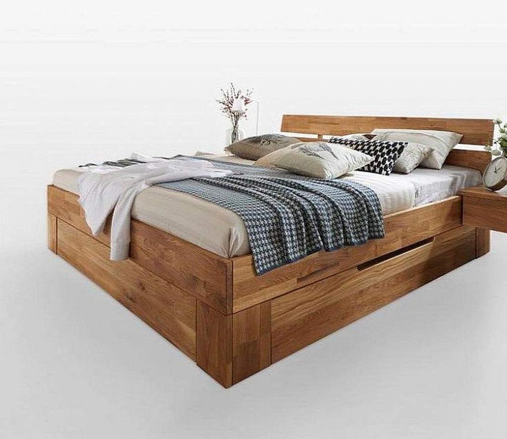 bett 160x200 schubladen schublade schubladen bett weis holz mit malm 160x200. Black Bedroom Furniture Sets. Home Design Ideas