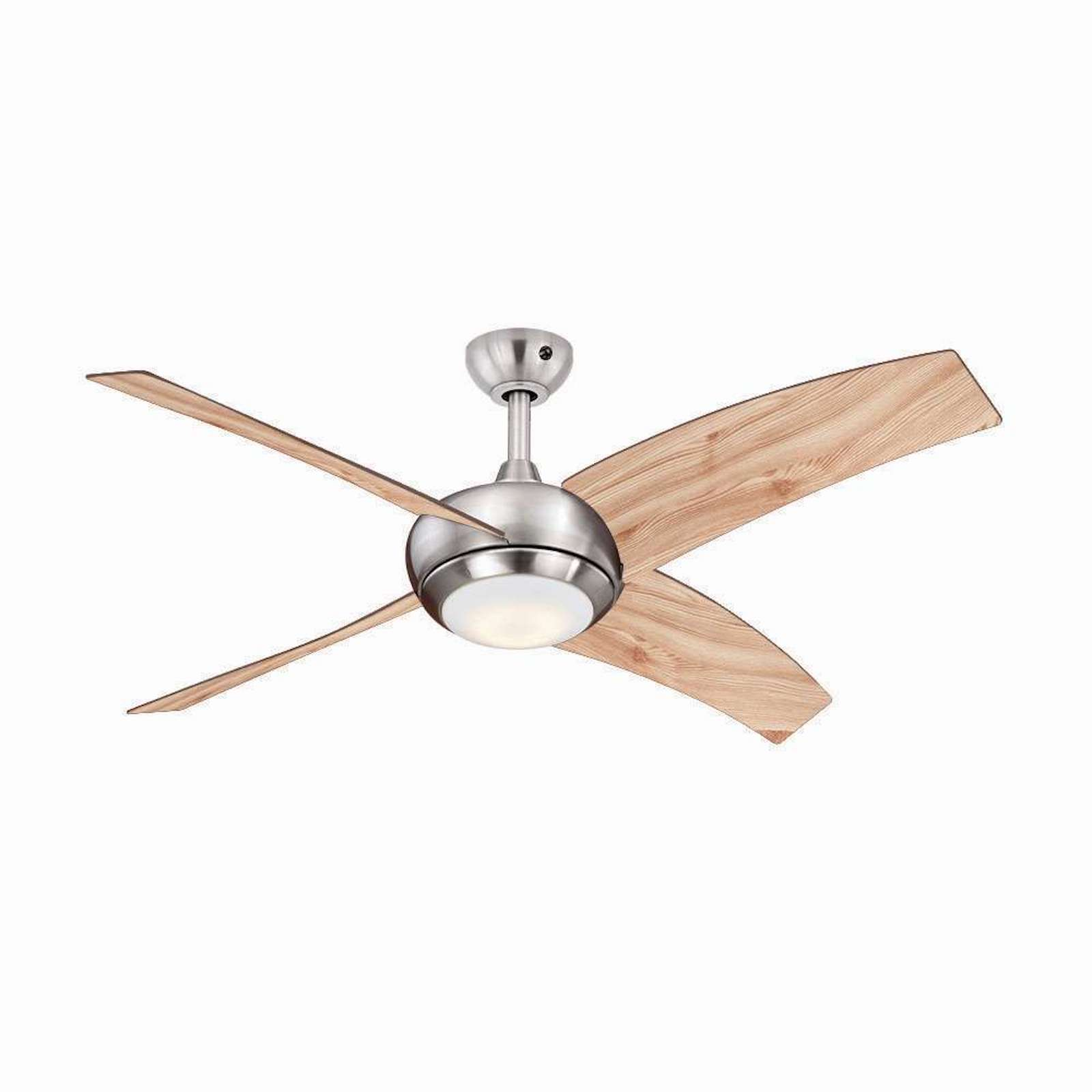Remote Control Ceiling Fans With Led Lights Ceiling Fan Borealis Pine With Led And Remote Control